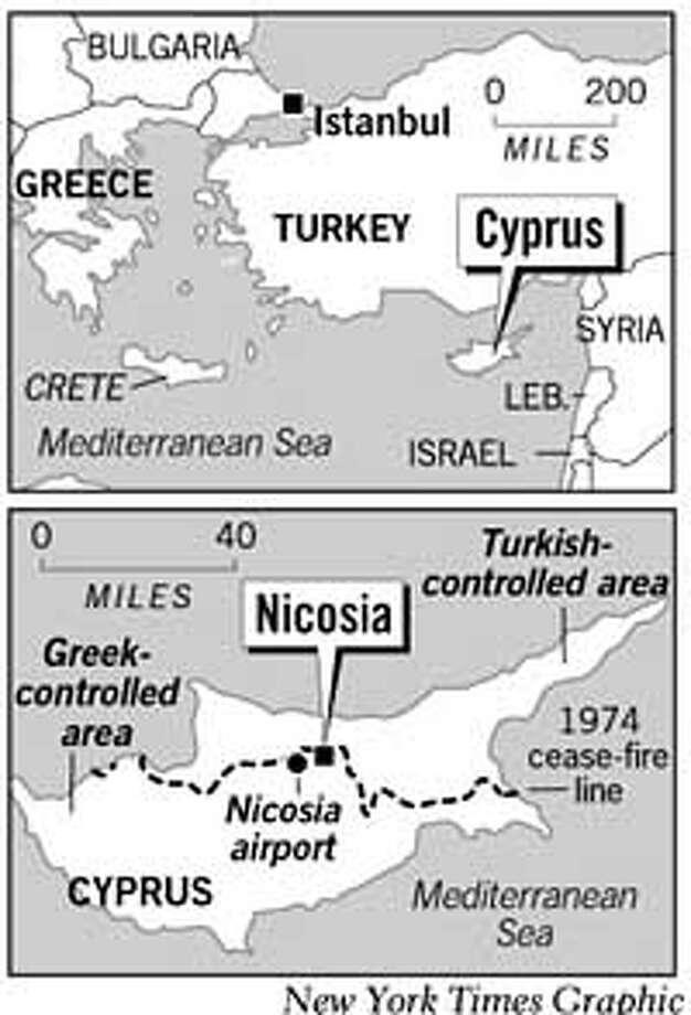 Nicosia, Cyprus. New York Times Graphic