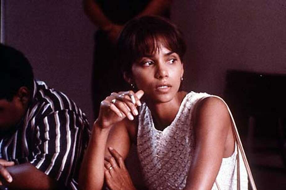 "Halle Berry in ""Monster's Ball'': Her love scene with Billy Bob Thornton is getting tabloid attention."