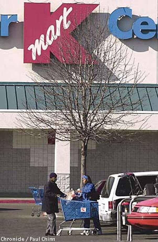 K-Mart closed its last three San Antonio stores in 2002. Photo: PAUL CHINN