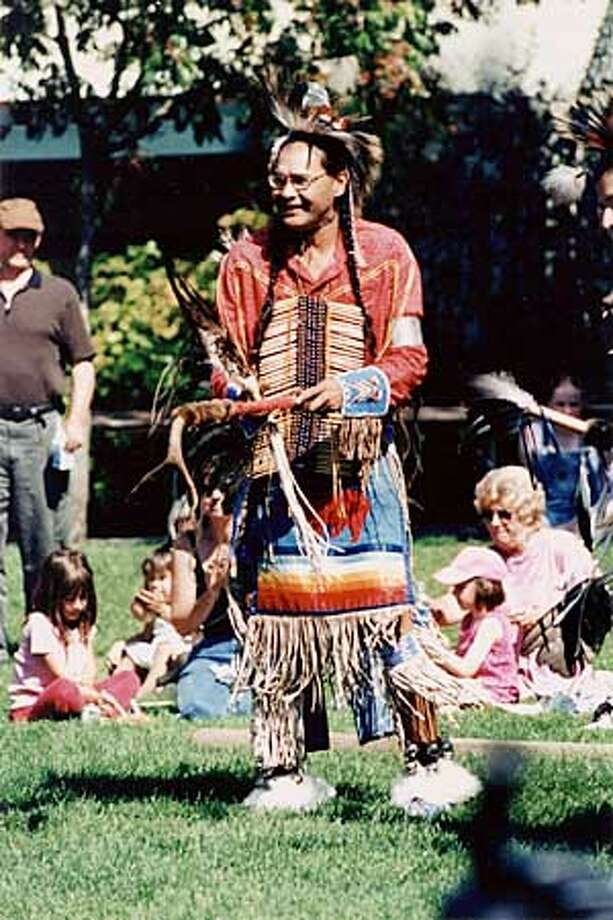 Joseph Waukazoo and the Intertribal Dancers will perform Plains-style traditional dances at the Marin Museum of the American Indian's 29th Annual Trade Feast on September 8 and 9. Photo: HANDOUT