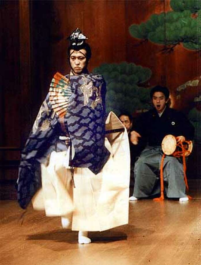 """Theatre of Yugen presents: a Native American and Japanese Noh intercultural production """"Crazy Horse"""" written by Erik Ehn. Photo: HANDOUT"""