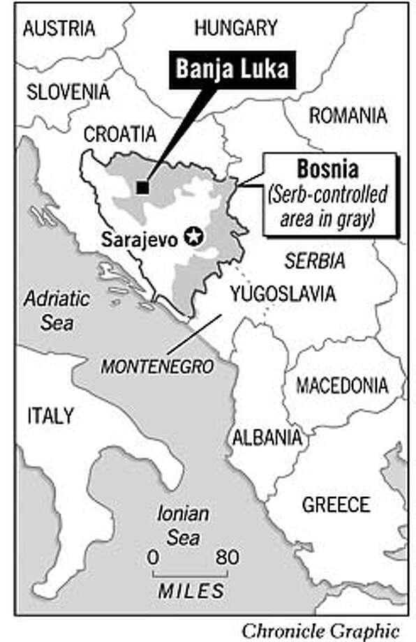 Banja Luka, Bosnia. Chronicle Graphic