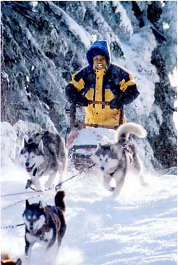"CUBA GOODING JR. IN WALT DISNEY COMEDY ""SNOW DOGS."" Photo: HO"