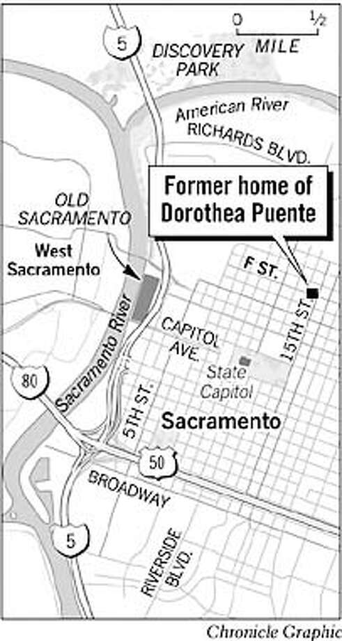 Former home of Dorothea Puente. Chronicle graphic