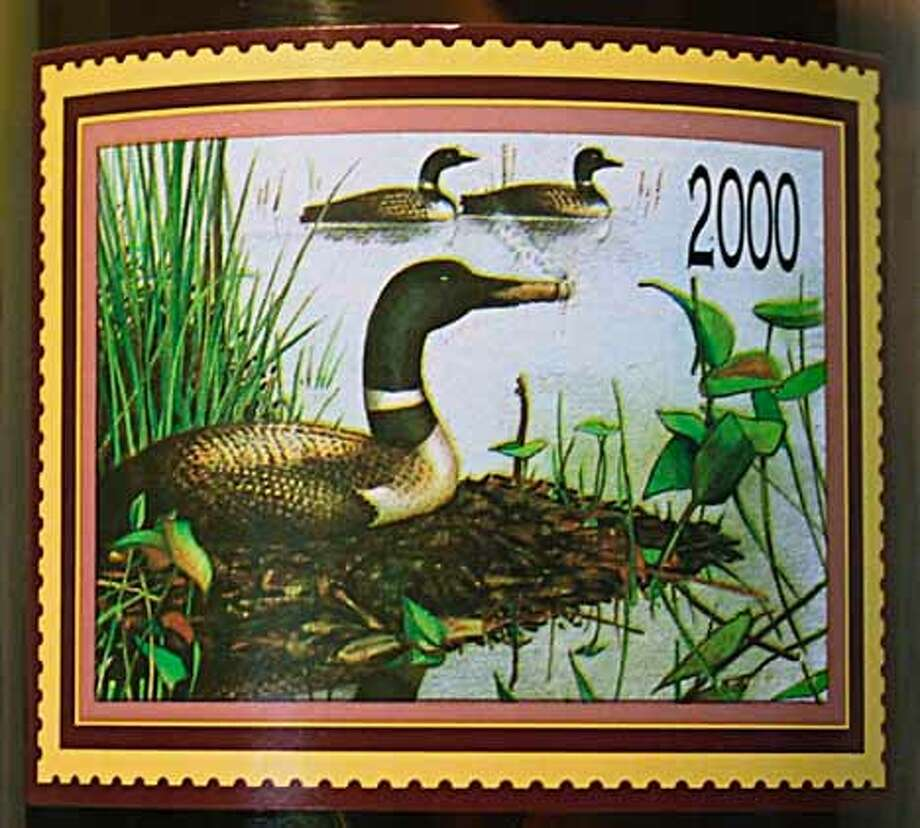 The Smoking Loon label shows a water bird sharing ex-Assemblyman Don Sebastiani's longtime cigar habit.