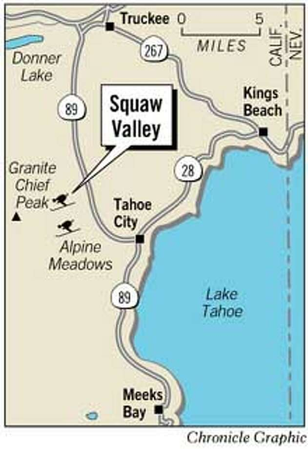 Squaw Valley. Chronicle Graphic