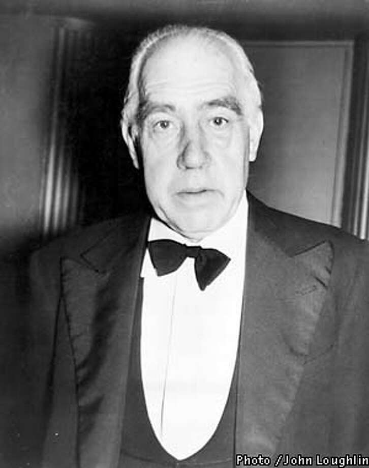 PROFESSOR NIELS BOHR, DANISH ATOMIC PHYSICIST AND TEACHER HAS BEEN NAMD AS RECIPIENT OF THE FIRST $75,000 ATOMS FOR PEACE AWARD, MARCH 12, 1957.  PHOTO BY JOHN LOUGHLIN Photo: HANDOUT