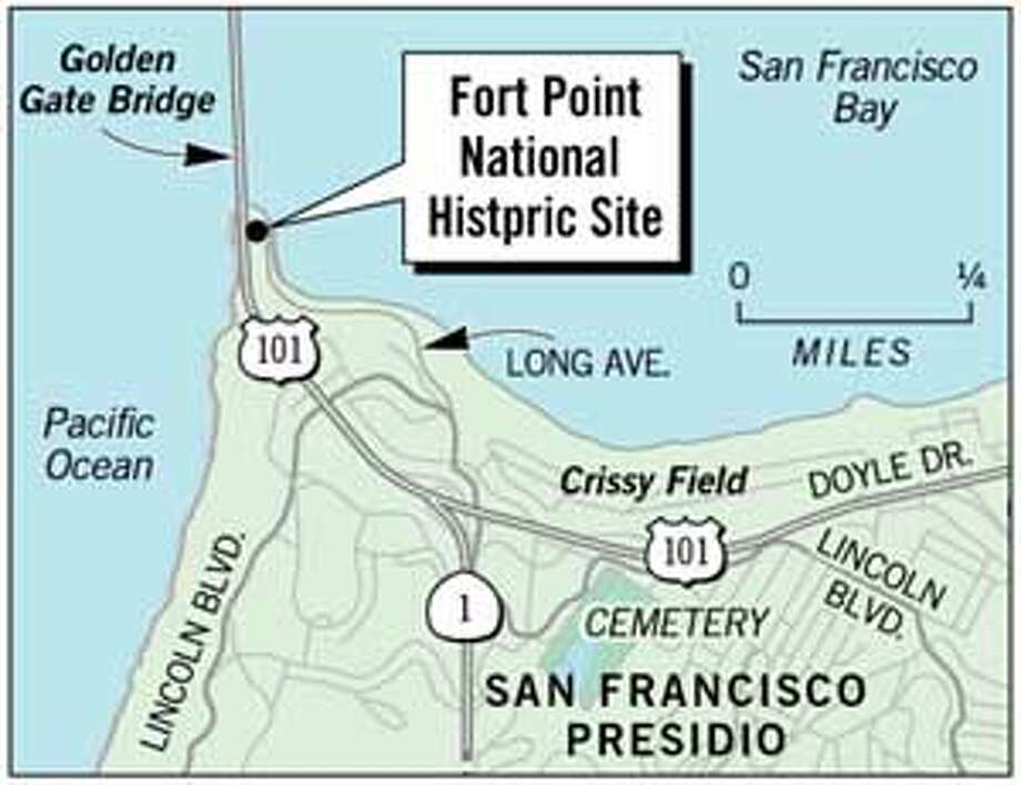 Fort Point. Chronicle Graphic