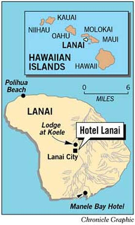 Hotel Lanai. Chronicle Graphic