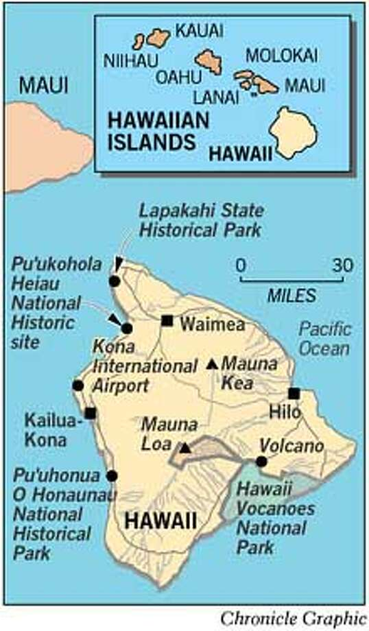 Hawaii. Chronicle Graphic