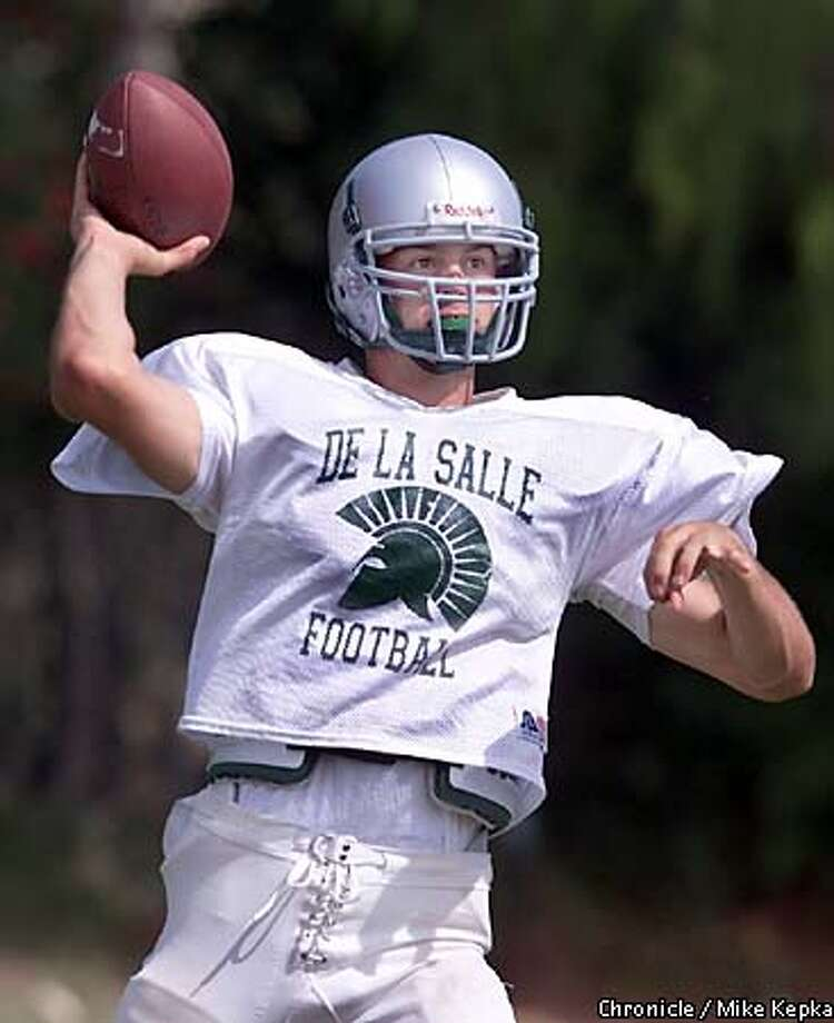 De La Salle High School's quarterback, Matt Gutierrez is a top college prospects in the Bay Area. BY MIKE KEPKA/THE CHRONICLE Photo: MIKE KEPKA