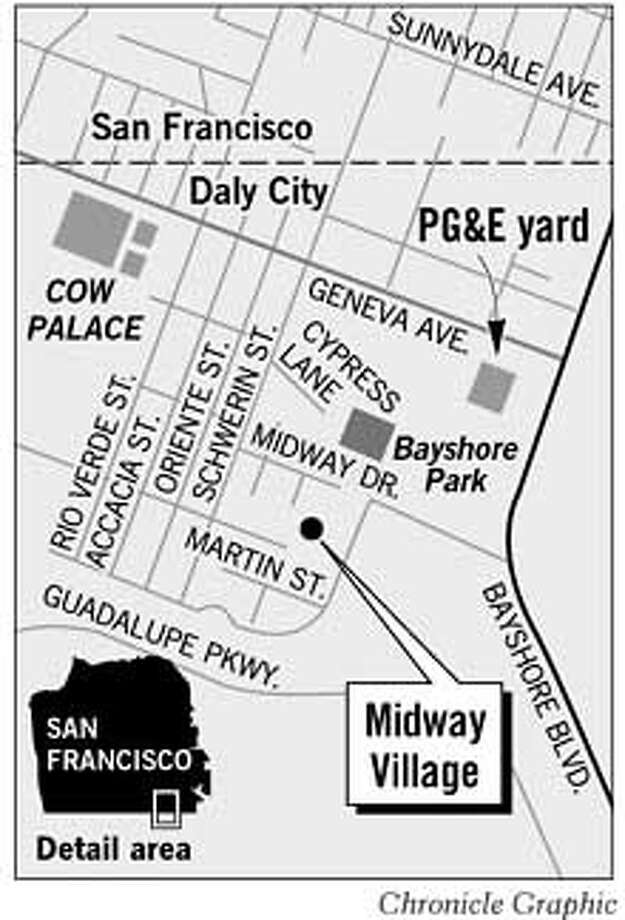 Midway Village. Chronicle Graphic