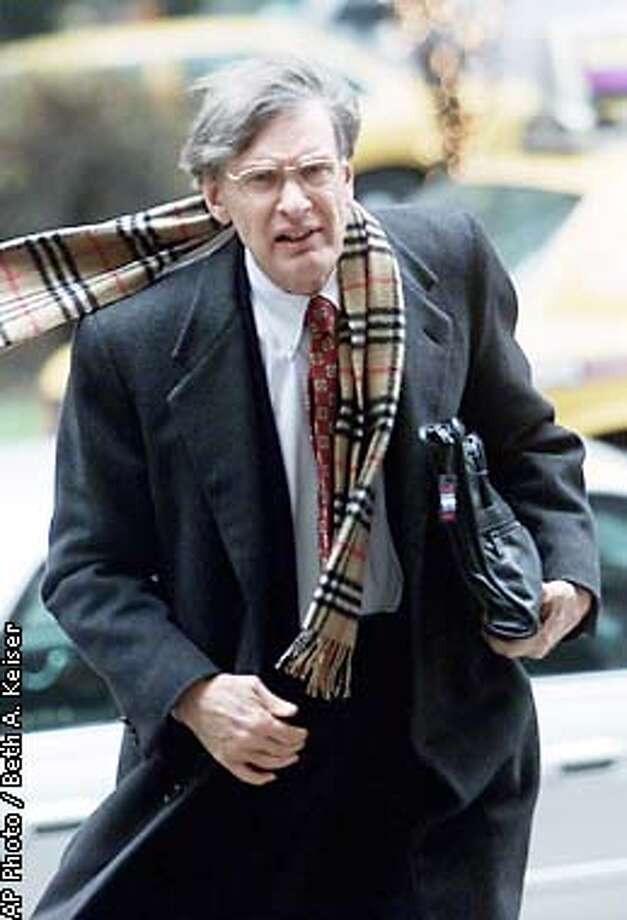 Major League Baseball Commissioner Bud Selig heads into a meeting at MLB headquarters Wednesday, Jan. 9, 2002, in New York, to address a negotiating committee of players, a day after the union and owners resumed collective bargaining talks. (AP Photo/Beth A. Keiser) Photo: BETH A. KEISER