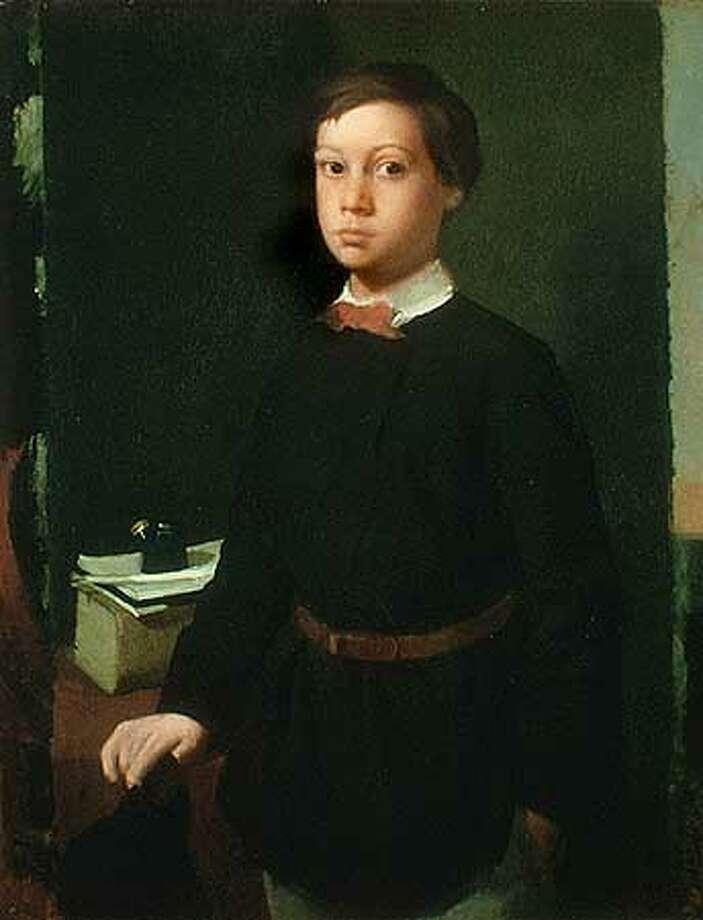Edgar Degas, Rene de Gas, 1855.