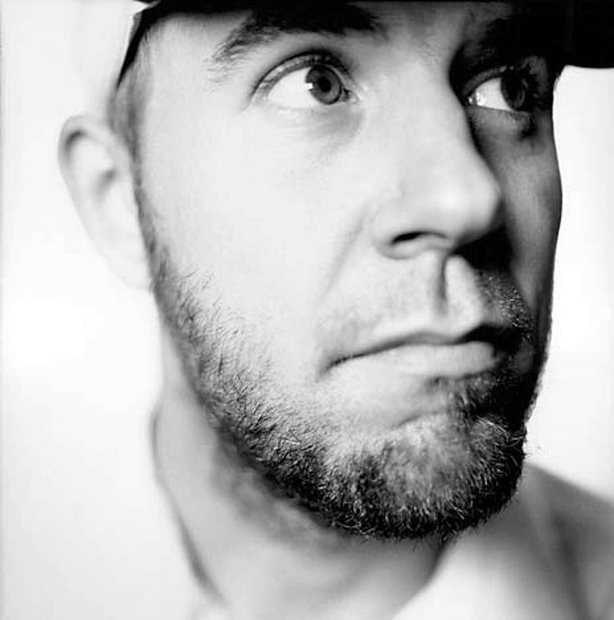 """The b&w is Jason Lytle of Grandaddy, a cultish Modesto band that's on the soundtrack. These are jpegs for grandaddy10, a potential centerpiece feature on the making of the """"I Am Sam"""" sountrack (all Beatles covers by contemporary artists). HANDOUT."""