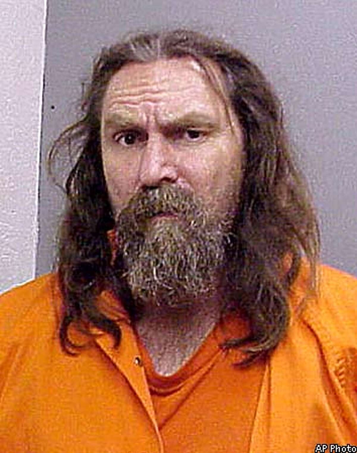 Frank Brady, 50, of Redwood Valley, Calif., is shown in this undated Mendocino County Sheriff's Department photo. Brady, according to police, allegedly started a campfire that burned out of control near Hopland Calif., Monday, Aug. 27, 2001. Brady was charged with murder Tuesday in the deaths of two pilots whose firefighting planes collided over the blaze. (AP Photo/Mendocino County Sheriff's Department)
