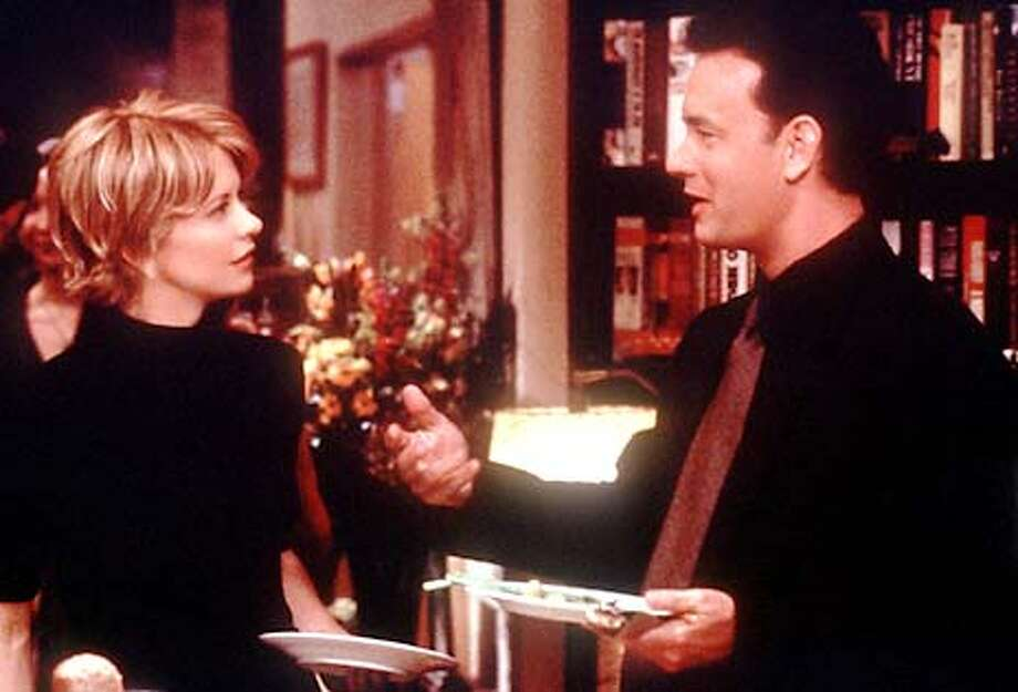 "MAIL/C/16DEC98/DD/HO = MOVIE, FILM, ""YOU'VE GOT MAIL"", with MEG RYAN AND TOM HANKS ALSO RAN: 05/07/1999 Photo: HANDOUT"