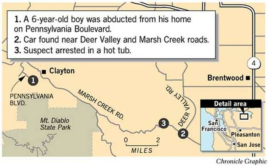 Concord Kidnapping. Chronicle Graphic
