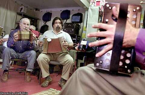 Yes! Accordions!' / The squeeze box is making a comeback in the East