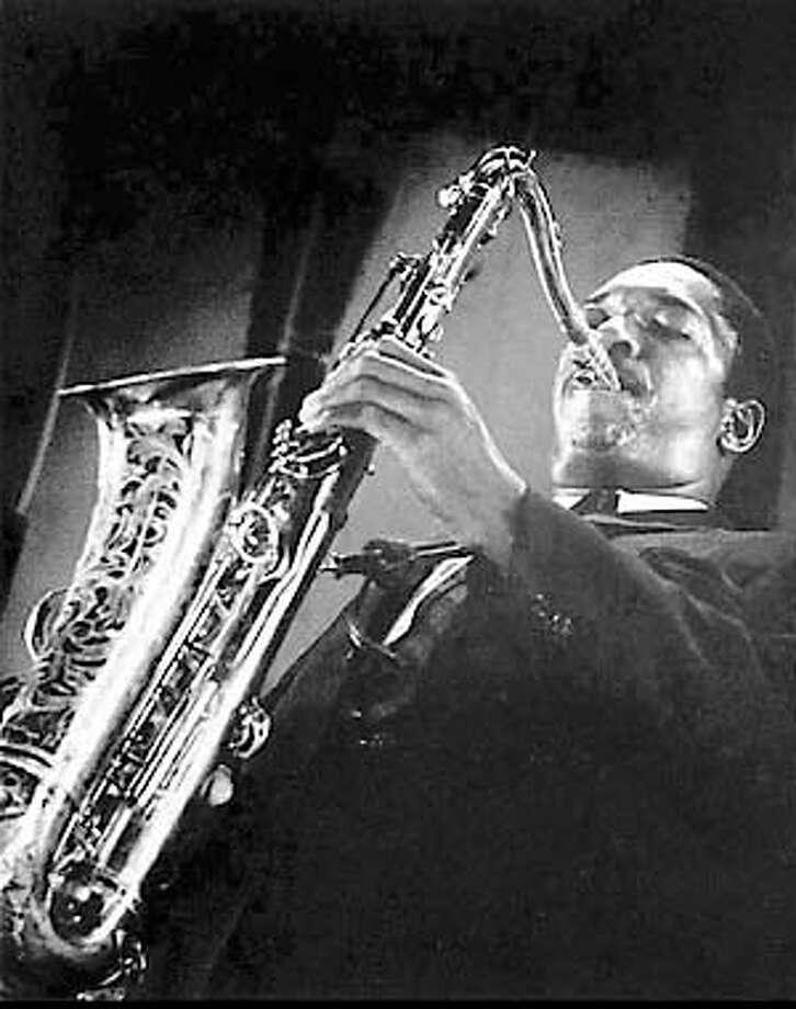 Jazz great John Coltrane plays in this undated photo. (AP Photo/August Leger Meyland III) Photo: AUGUST LEGER MEYLAND III
