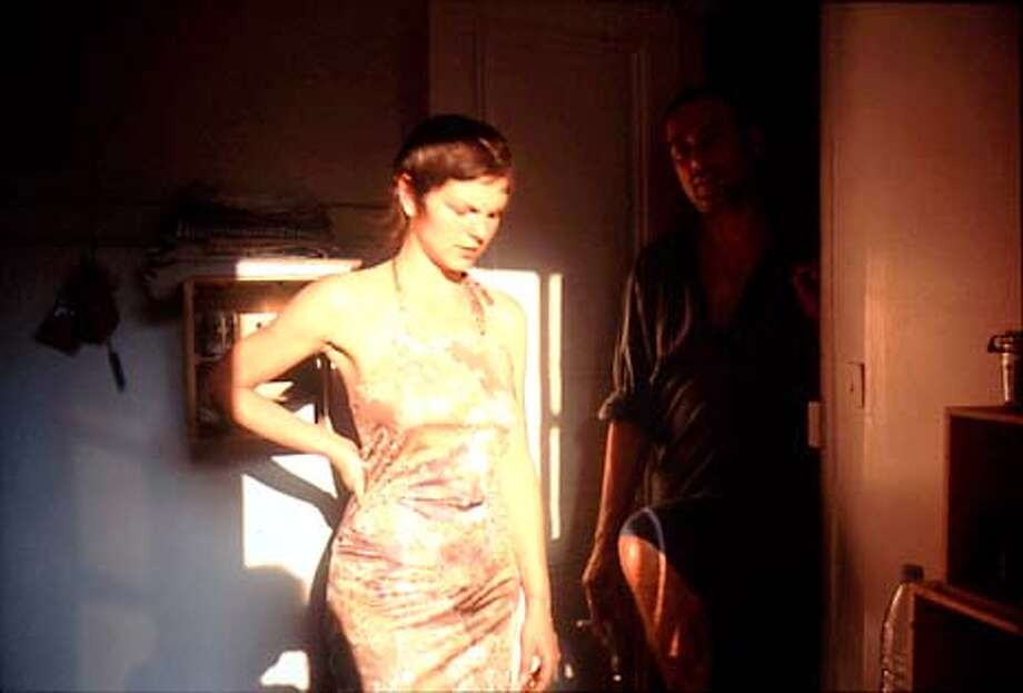 Valerie in the light, Bruno in the dark, Paris, 2001. Fraenkel Gallery. HANDOUT.