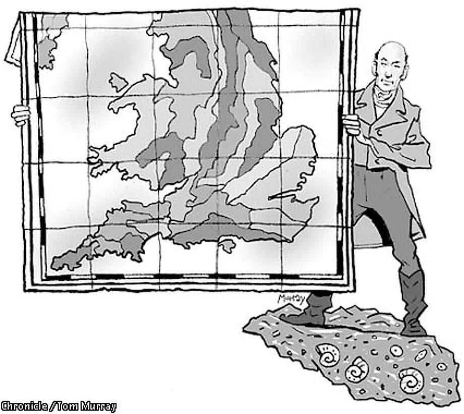 Rock star: Simon Winchester profiles the man who created the first major geological map. Chronicle illustration by Tom Murray