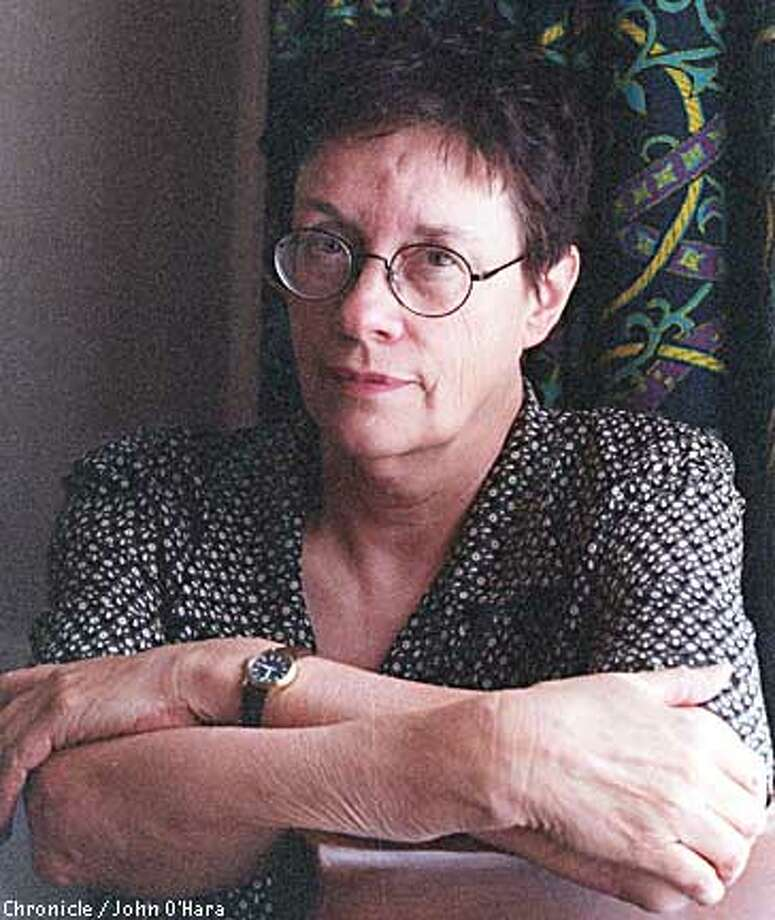 E. Annie Proulx says that in the film based on her novel ''The Shipping News,'' some characters ''took on a kind of depth that wasn't spelled out in the book.'' Chronicle photo, 1996, by John O'Hara