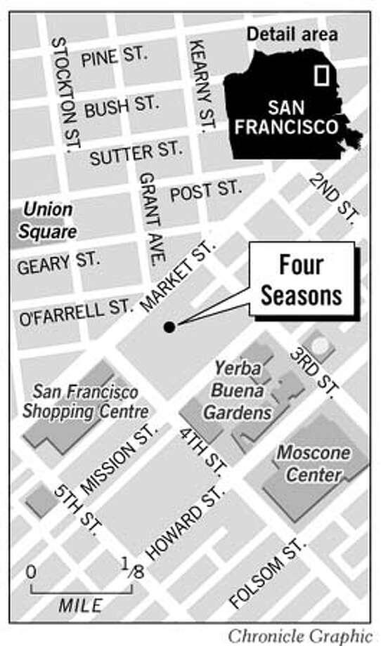 San Francisco Four Seasons. Chronicle Graphic