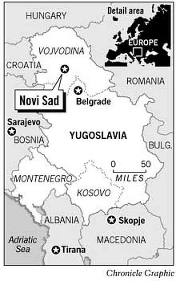 Novi Sad. Chronicle Graphic