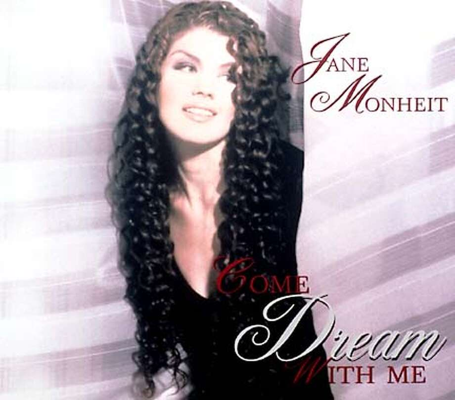 Singer Jane Monheit's new CD cover entitled COME DREAM WITH ME