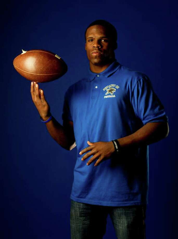 All Greater Houston's Football offensive player of the year,Trey Williams, of Dekaney High School, photographed in the Houston Chronicle studio, Thursday, Dec. 29, 2011, in Houston.( Karen Warren / Houston Chronicle ) Photo: Karen Warren / © 2011 Houston Chronicle