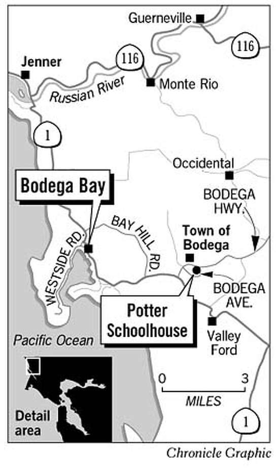 Bodega Bay. Chronicle Graphic Photo: Cen Aguirre