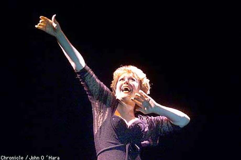 "ALcazar Theater, San Francisco,CA  ""Inside the Music""  ""Donna McKechnie""  Photo/John O'Hara Photo: John O'Hara"