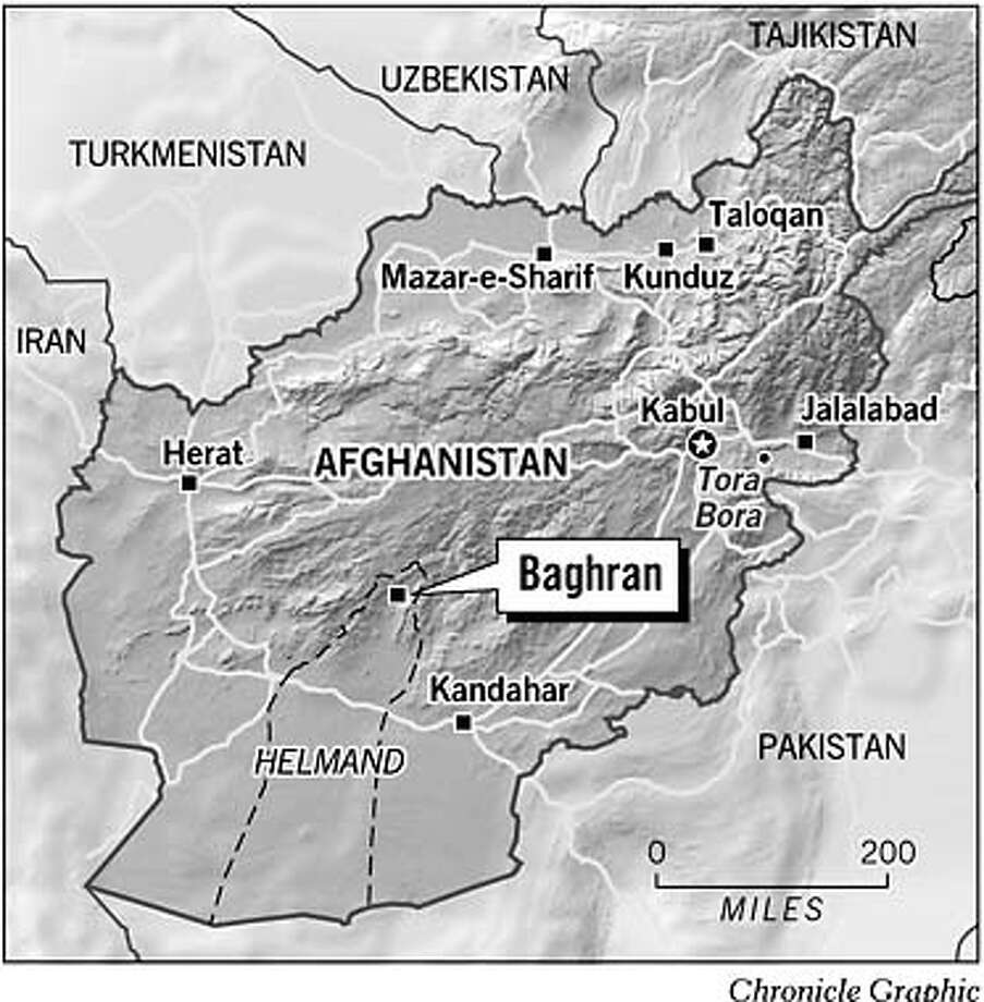 Baghran, Afghanistan. Chronicle Graphic