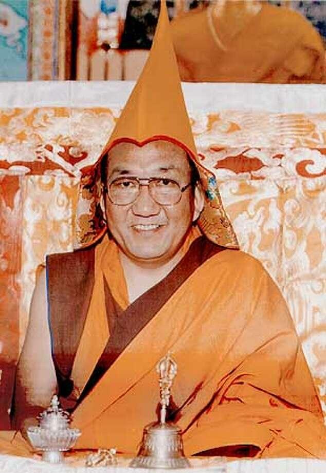The venerable Arjia Rinpoche, Buddhist teacher, scholar, rligious teacher and artist. Photo: HANDOUT