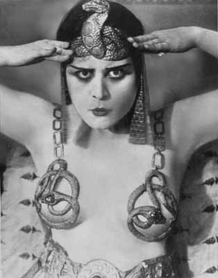 FOR THE RECORD: Theodosia Goodman becomes Theda Bara, an anagram for ``Arab death.''File Photo