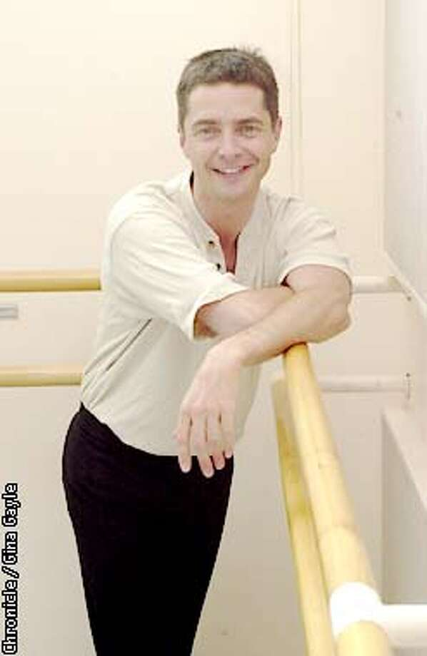 Bruce Sansom of the Royal Ballet is here in San Francisco working behind the scenes before going on to New York. Photo by Gina Gayle/The SF Chronicle. Photo: GINA GAYLE