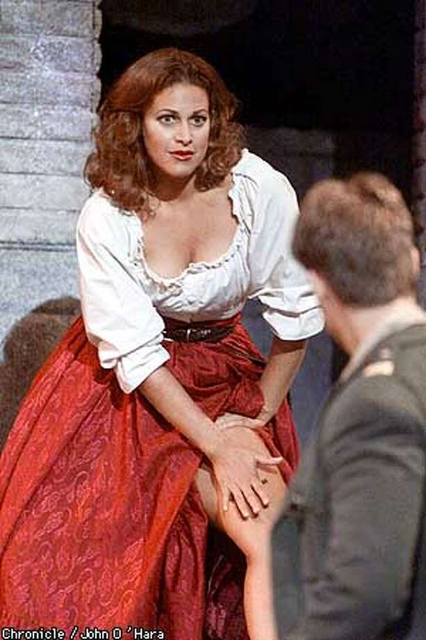 "Dean Lesher Regional Center for the Arts. Festival Oper's production of ""Carmen"".  Buffy Baggott as Carmen  Brandon Jouanovich as Don Jose,  photo/John O'Hara Photo: John O'hara"