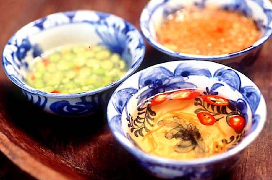 Thai bird chiles, lime, ginger and fish sauce are vital to Vietnamese dipping sauces. Photo by Mai Pham, special to the Chronicle Photo: HANDOUT