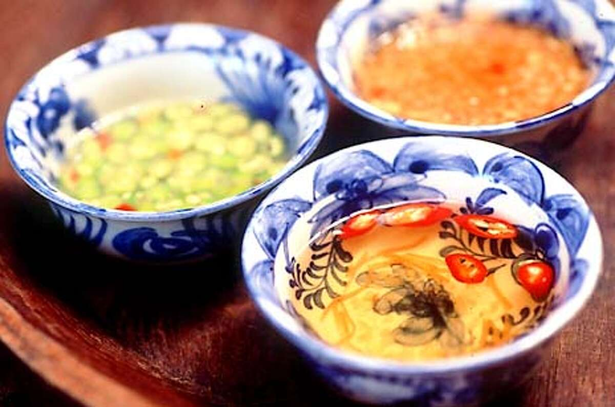 Thai bird chiles, lime, ginger and fish sauce are vital to Vietnamese dipping sauces. Photo by Mai Pham, special to the Chronicle