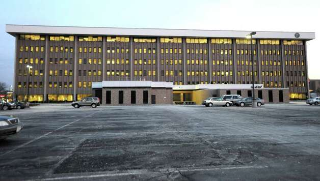 The rear side of the Department of Transportation building at 50 Wolf Rd. on Tuesday, Jan. 31, 2012 in Albany, N.Y. The Department of Transportation will move the regional office that oversees its operations in the Capital Region from downtown Schenectady to its Wolf Road headquarters, according to a departmental communication.  (Lori Van Buren / Times Union) Photo: Lori Van Buren