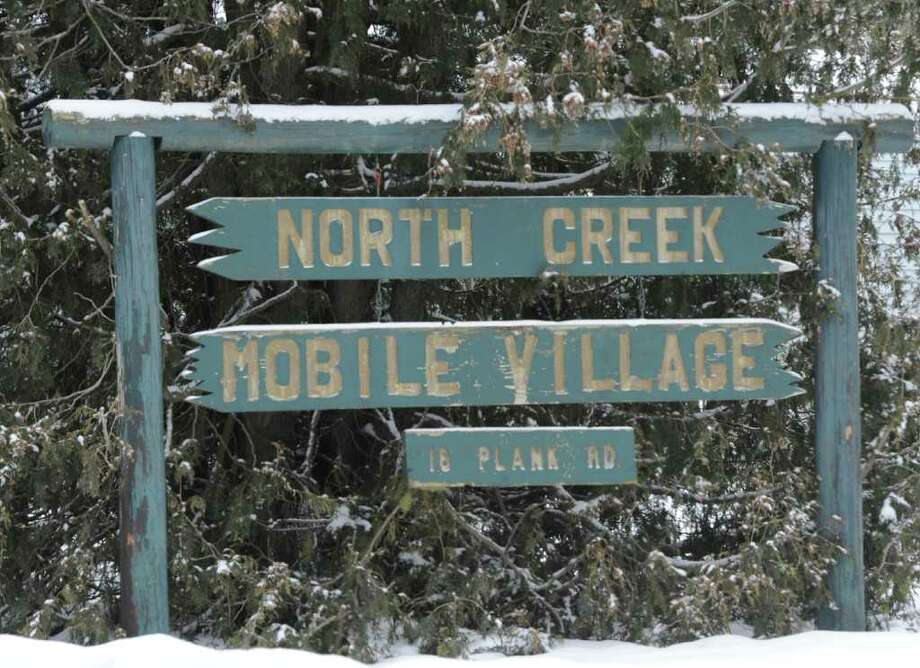 The North Creek Mobile Village in Porters Corners, N.Y Jan. 31, 2012 where the bodies of Kenneth and Anna Sherman were found in lot #36.  ( Skip Dickstein/Times Union) Photo: Skip Dickstein / 2011