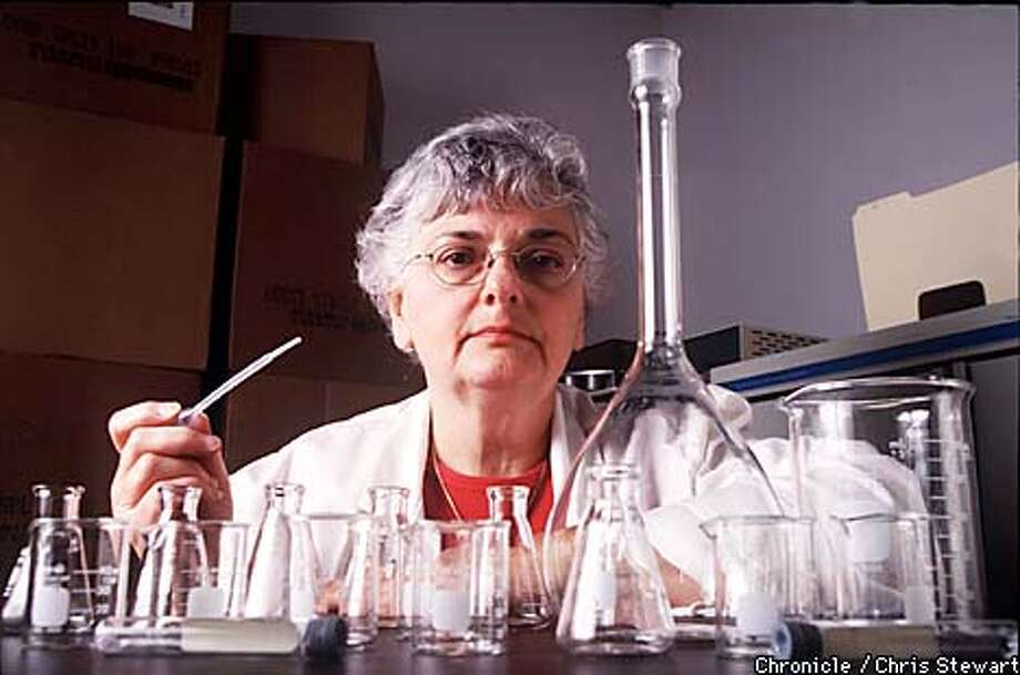 Halle Weingarten is co-director of Independent Toxicology Services, a San Jose drug testing lab. Drug testing of employees and job applicants is on the rise. A large number of Fortune 200 companies are testing employees. Independent Toxicology Services is where employees and job applicants go to give their cup of pee.  (BY CHRIS STEWART/THE SAN FRANCISCO CHRONICLE) Photo: CHRIS STEWART