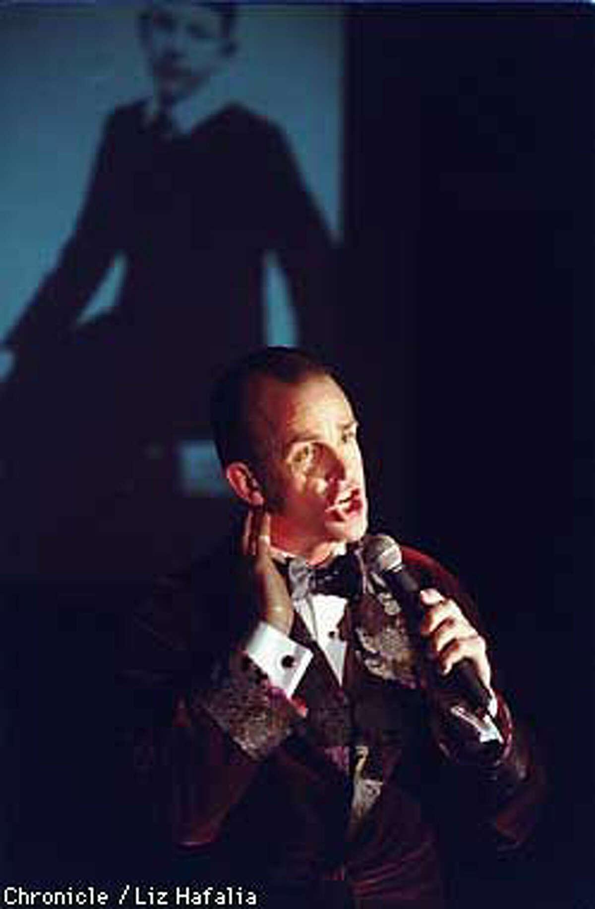 Craig Jessup pays tribute to Noel Coward's Vegas days with his one-man cabaret show, ``Craig Jessup Sings Noel Coward.'' Chronicle Photo by Liz Hafalia