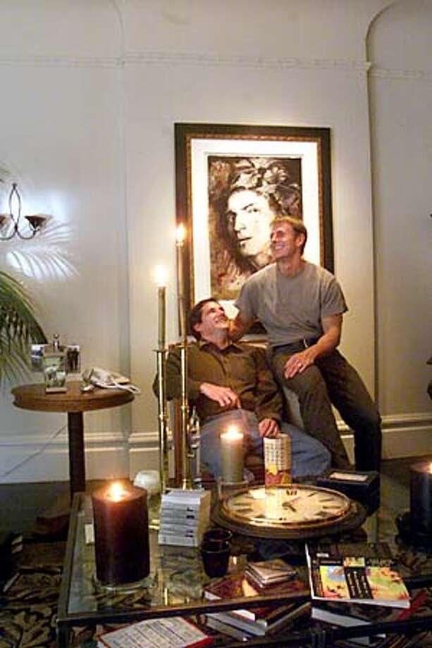 43 Hartford St. San Francisco,CA  Cencus counting gay couples. Ken and Jeff in their home.  Photo/John O'Hara Photo: John O'Hara