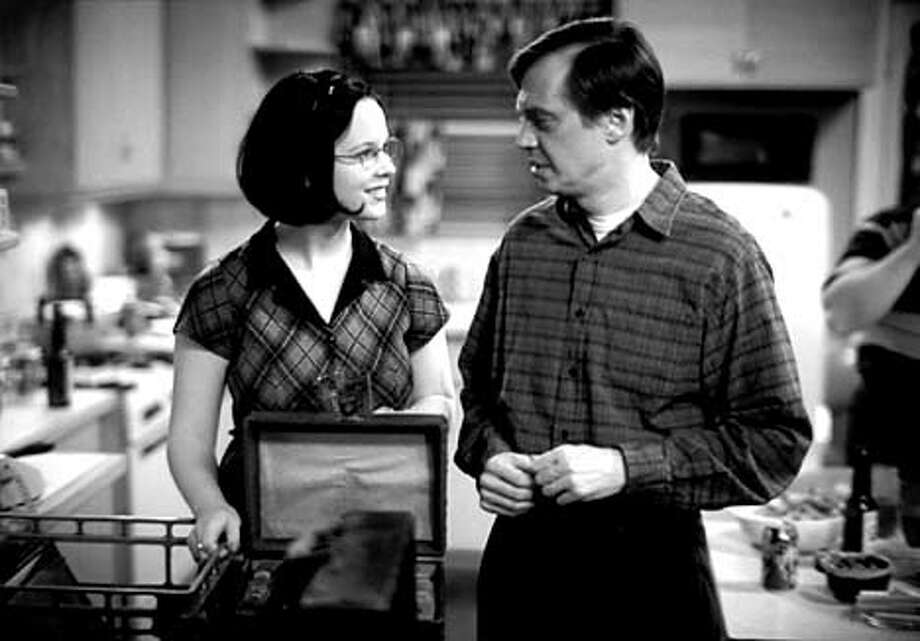 GHOSET WORLD. Thora Birch and Steve Buscemi.