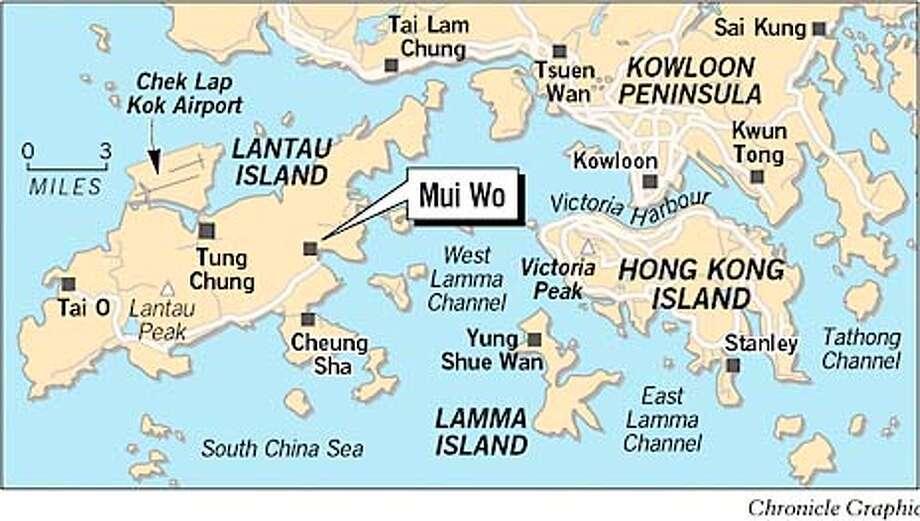 Mui Wo, Hong Kong. Chronicle graphic