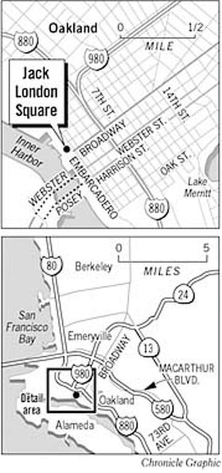 Jack London Square. Chronicle graphic