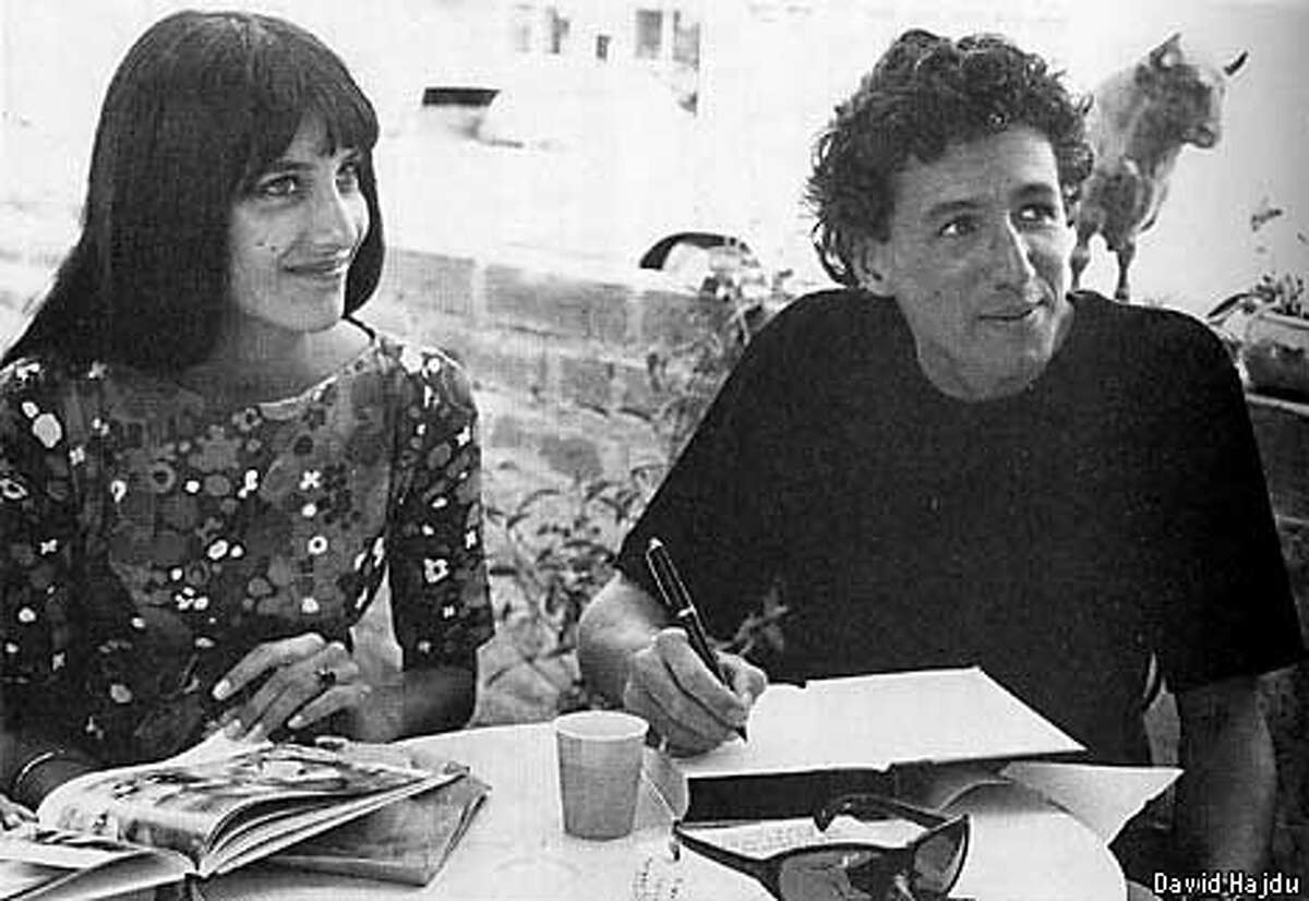 Mimi and Richard Farina at Richard's book signing party, April 30, 1966. Photo taken from the book POSITIVELY 4TH STREET by David Hajdu