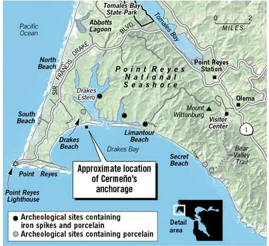 Drakes Bay. Chronicle Graphic